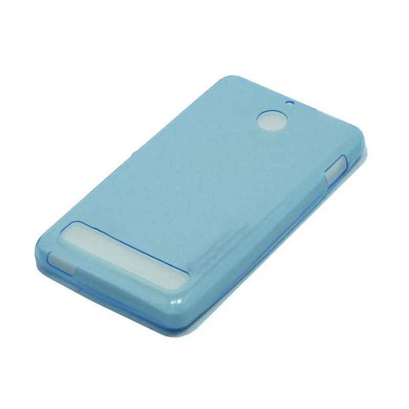 OEM Ultrathin Jelly Softcase Casing for Sony Xperia E1 - Blue