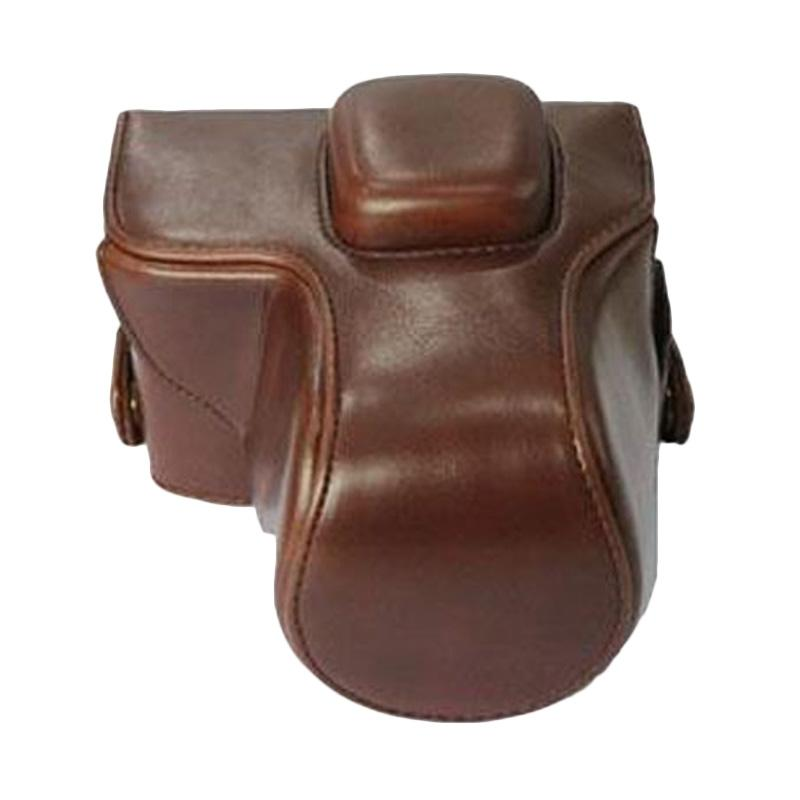 Third Party R 46 Leather Case for Fuji X-T10 - Dark Brown