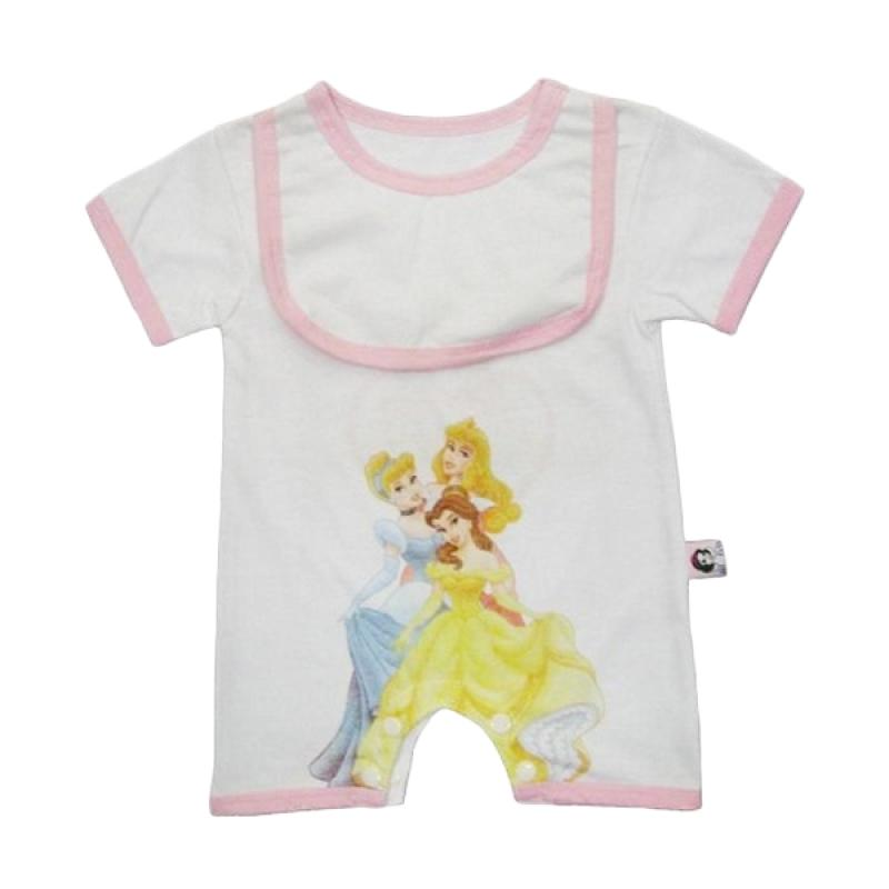 Wonderland Romper Princess Bib Baju Jumpsuit Bayi