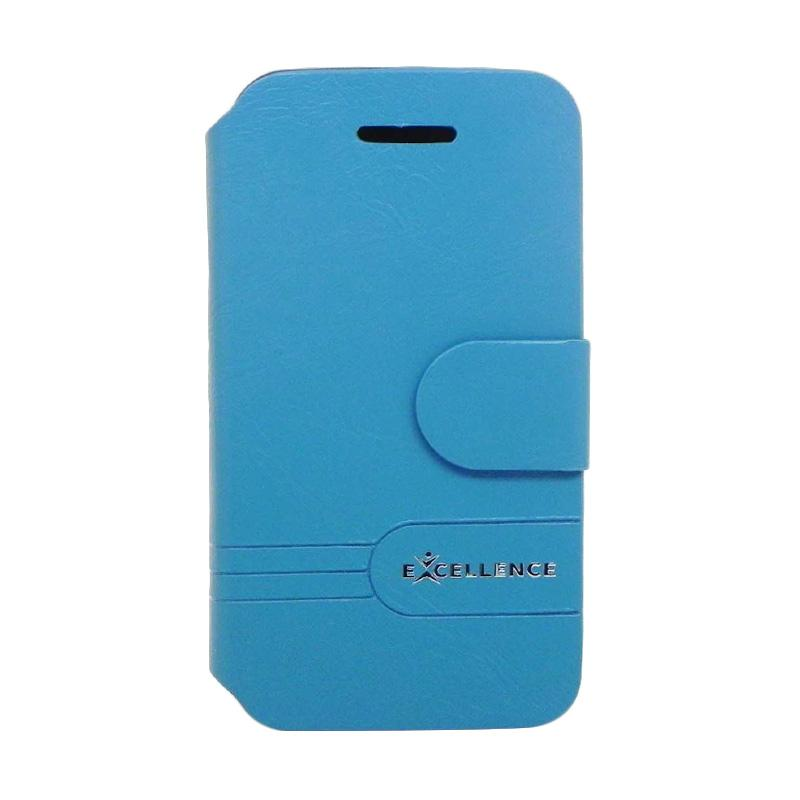 Excellence Dragonite Flip Cover Casing for iPhone 5 - Blue