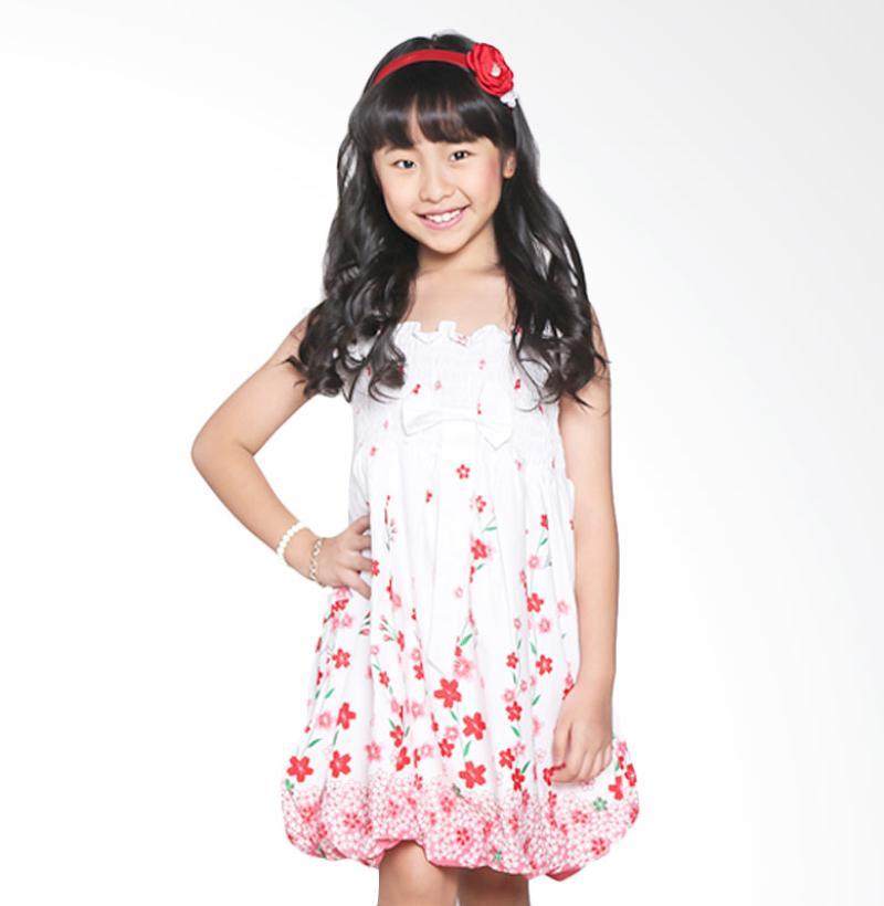Pretty Girl 2CALYA Calya Muslim Woven Dress Anak