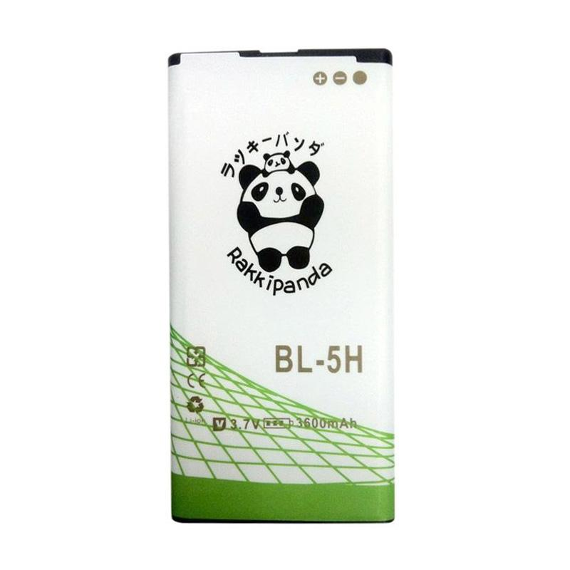 RAKKIPANDA BL-5H Double Power and IC Battery for Nokia [3600 mAh]