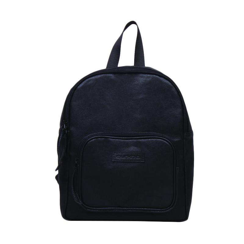 Gurkha BBP52 Syntethic Leather Mini Backpack Tas Wanita - Black