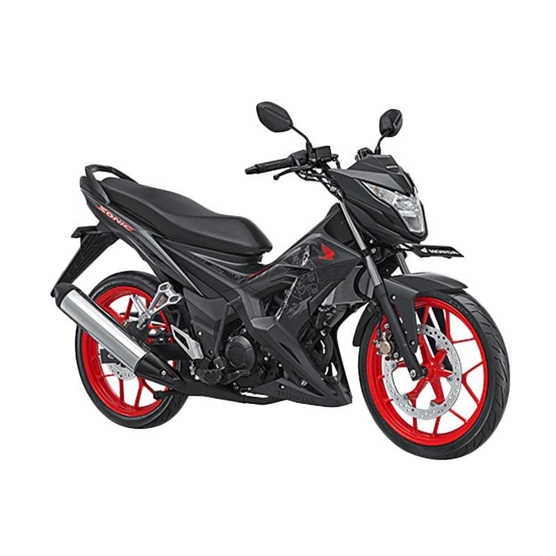 harga Honda New Sonic 150R Sepeda Motor - Aggresso Matte Black [OTR Jadetabek] Blibli.com