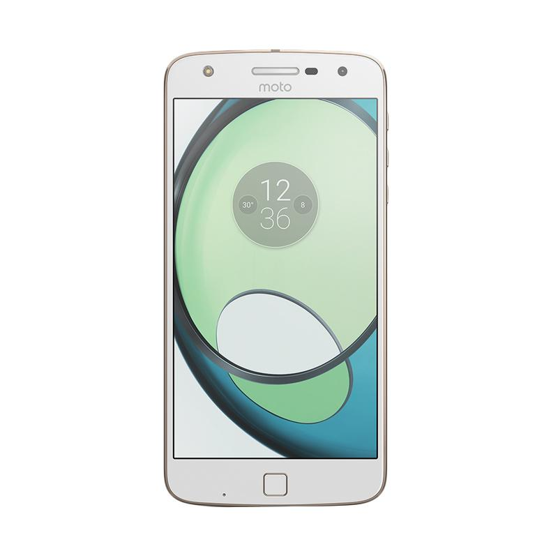 Motorola Moto Z Play XT1635 AP3810AE7X7 Smartphone - White [32GB/ 3GB]