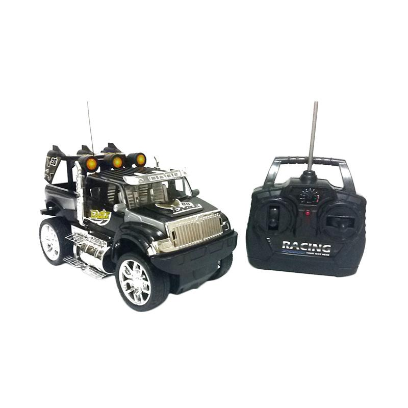Golden Shop Mobil Jeep Driver Remote Control - Hitam