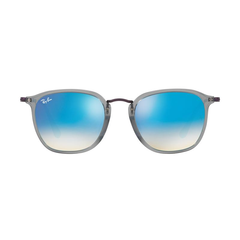 Ray-Ban Rb2448Nf - Trasparent Grey [12104O/Size 53/Blue Flash Gradient]