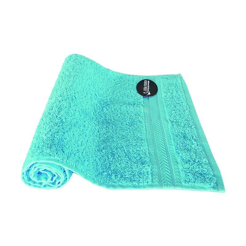 Jual Rhema Premium Katun Handuk Olahraga Biru Turquoise 34 X 80 Cm Online Februari 2021 Blibli