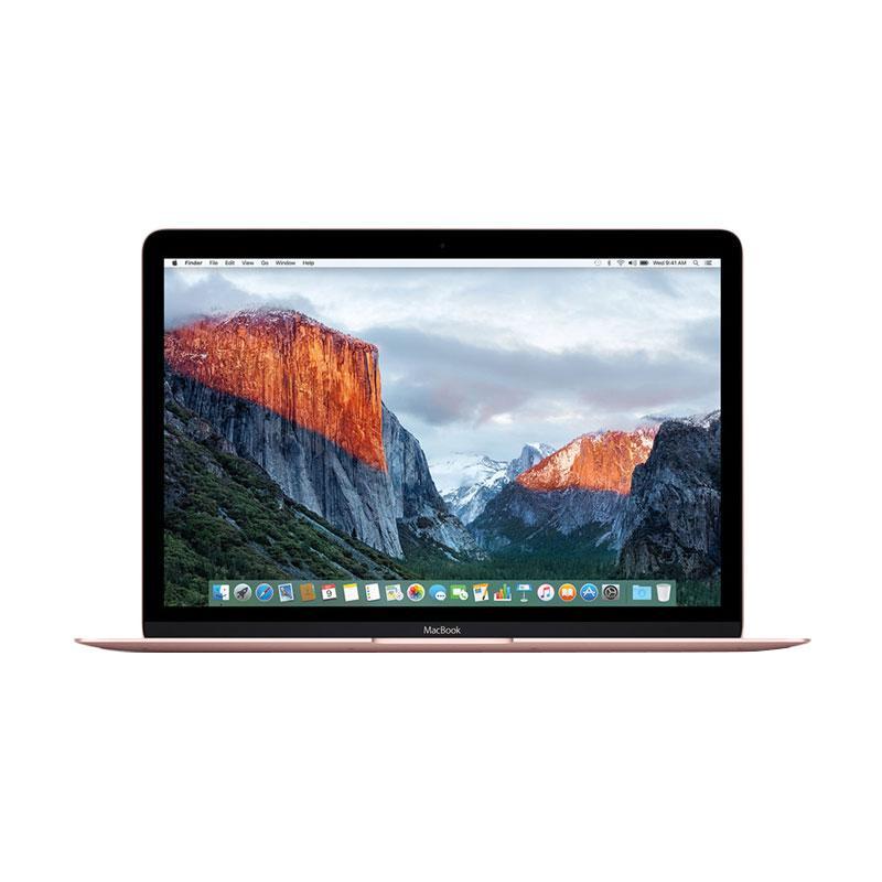 harga Apple MacBook MNYM2 Notebook 2017 - Rosegold [DualCore M3/ 8GB/ 256GB/ 12 Inch] Blibli.com