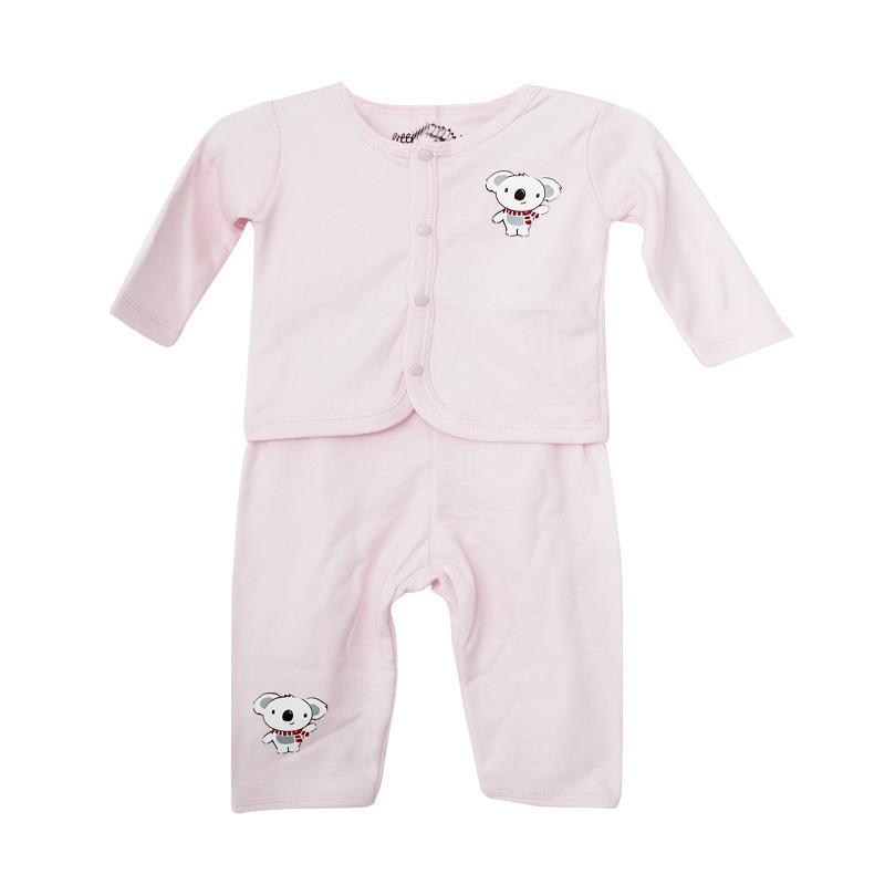 harga Little Indian Kancing Koala Setelan Pakaian Bayi - Pink Blibli.com