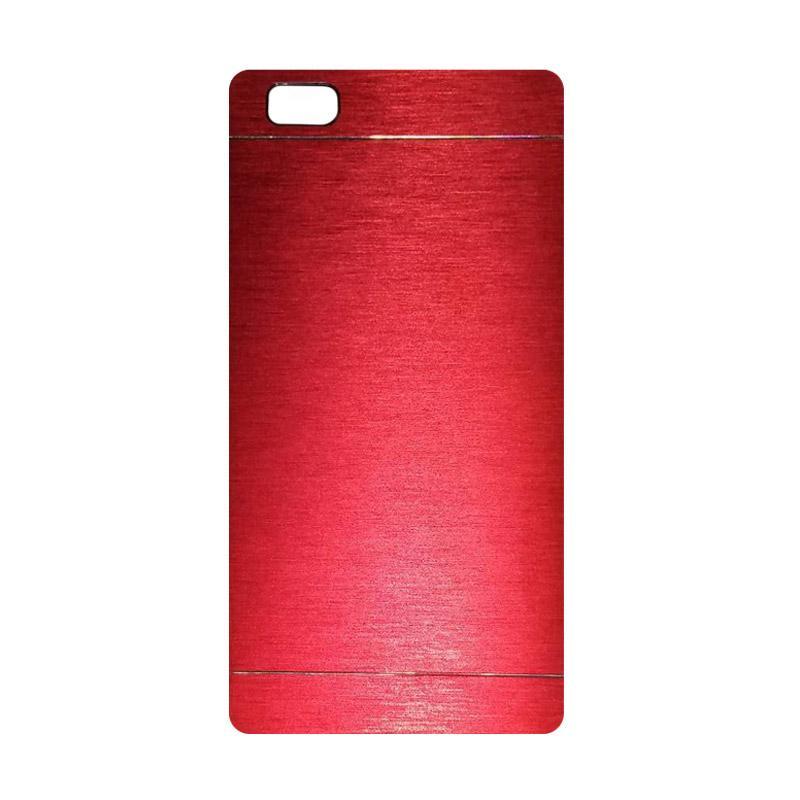 Motomo Metal Hardcase Backcase Casing for Huawei P8 Lite - Red