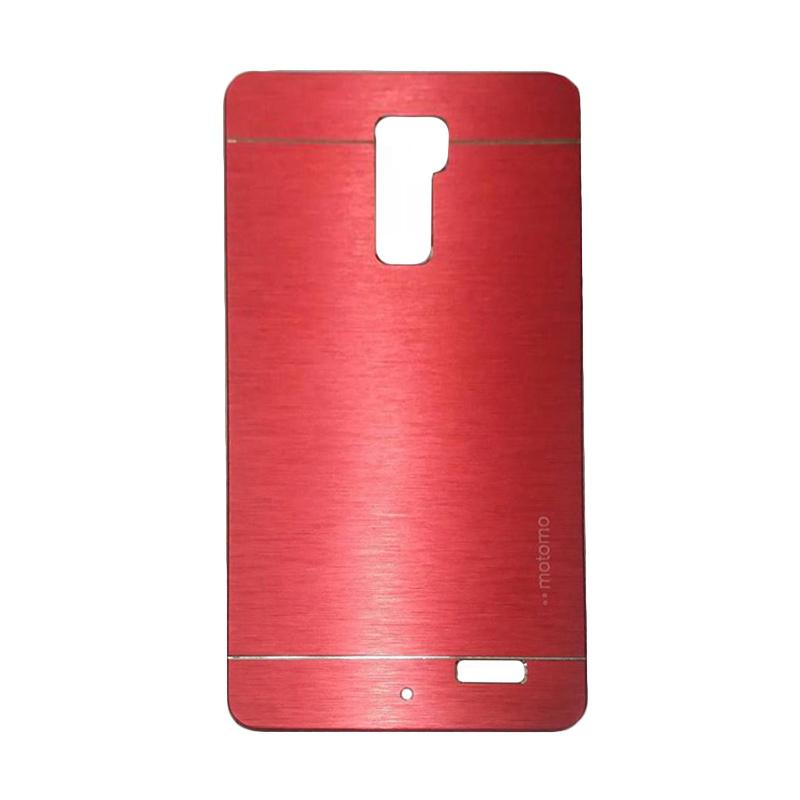 Motomo Metal Hardcase Backcase Casing for OPPO R7 Plus - Red