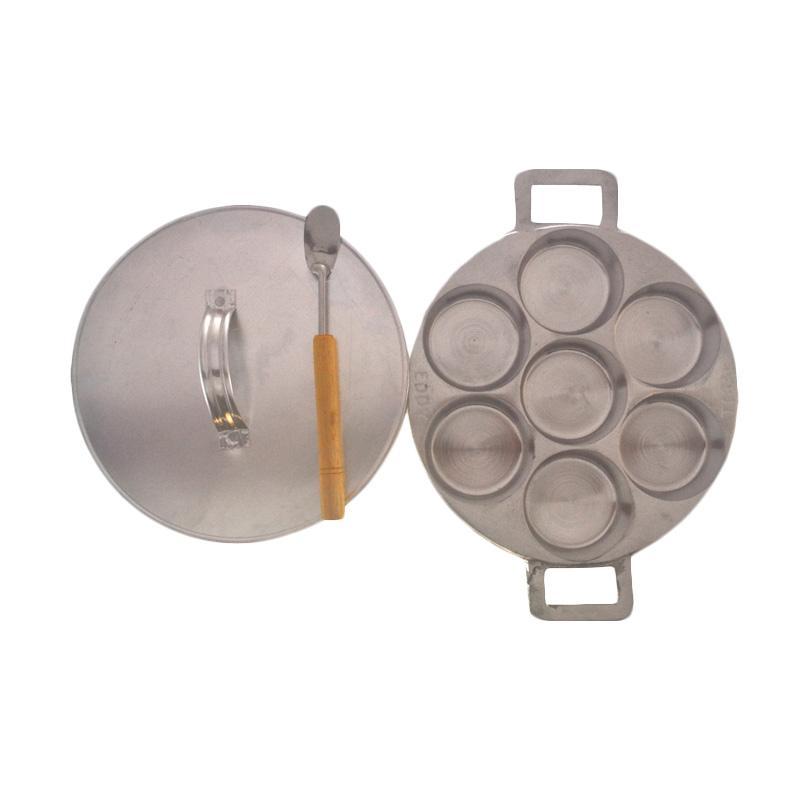 Rosita Cetakan Kue Lumpur Aluminium Dengan Tutup [6,9 cm]
