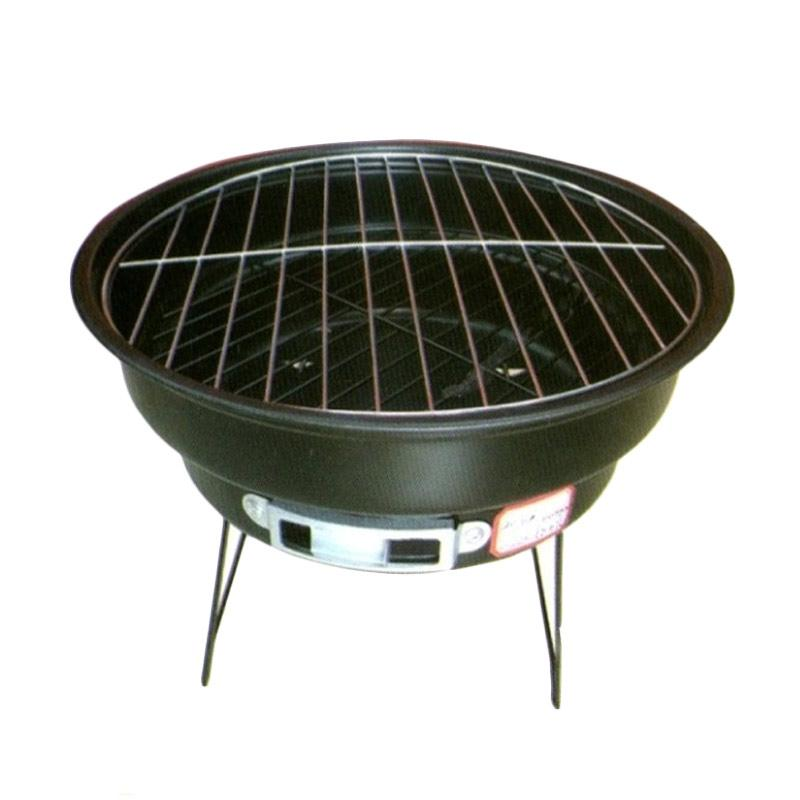 Trend BBQ Barbecue Pot Alat Panggang Portable - Hitam