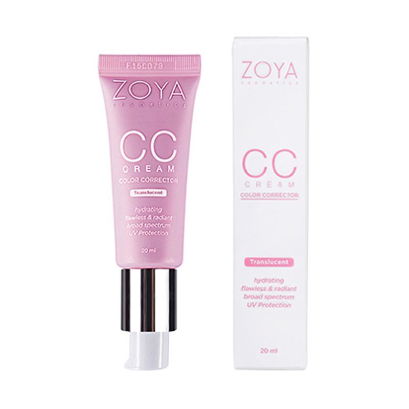 Jual Zoya Cosmetics Color Corrector Translucent CC Cream [20 mL] Online - Harga & Kualitas Terjamin   Blibli.com