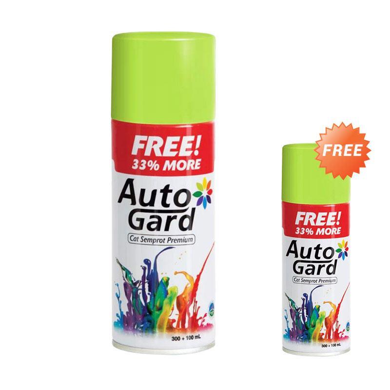 Buy 1 Get 1 Autogard AG-84 Cat Semprot Standard - Green Lime [300ml]
