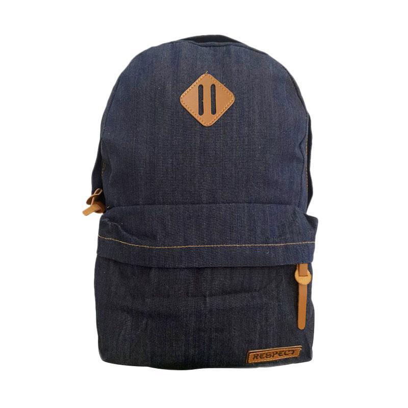 Bag & Stuff Denim Respect Backpack Jeans Korea Wanita