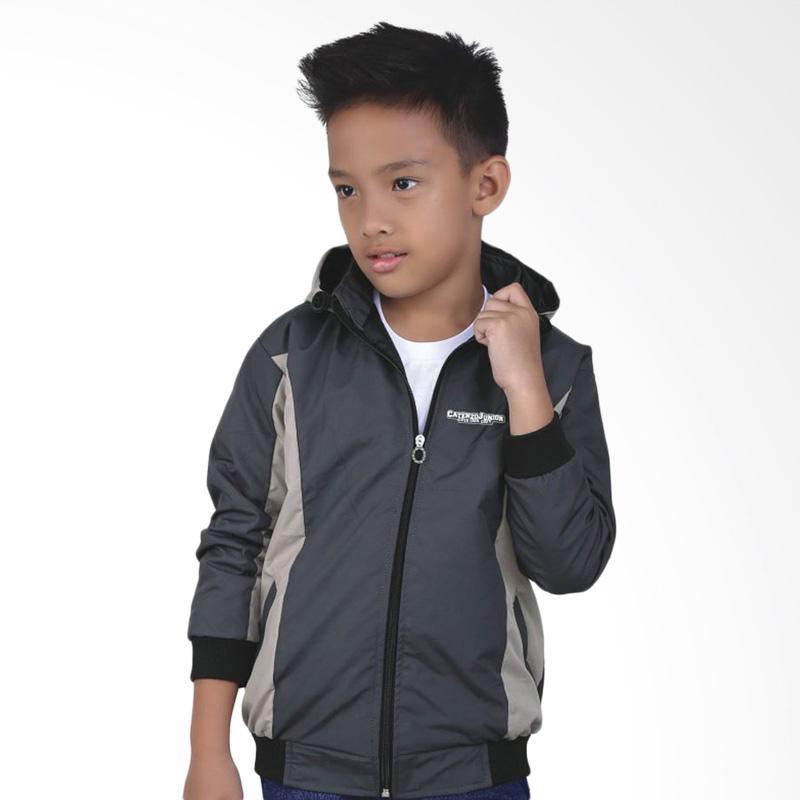 Catenzo Junior CJR CCR 172 Casual Jaket Anak Laki - Grey