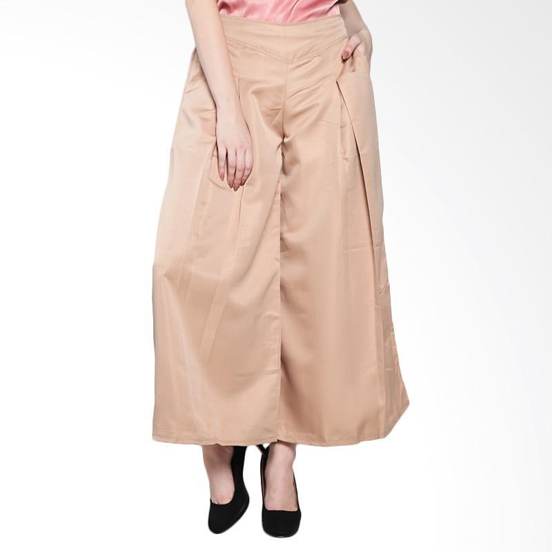 Papercut Fashion 555 Anzella Bidelia Celana Wanita - Brown