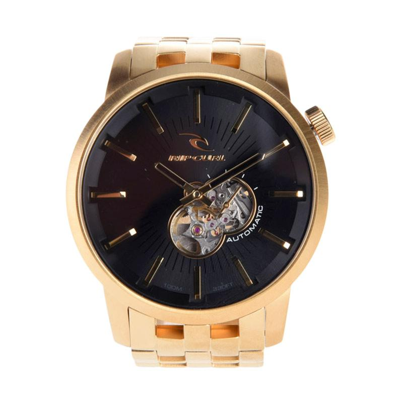 Rip Curl Detroit SSS Automatic Jam Tangan Pria - Gold A2645 146