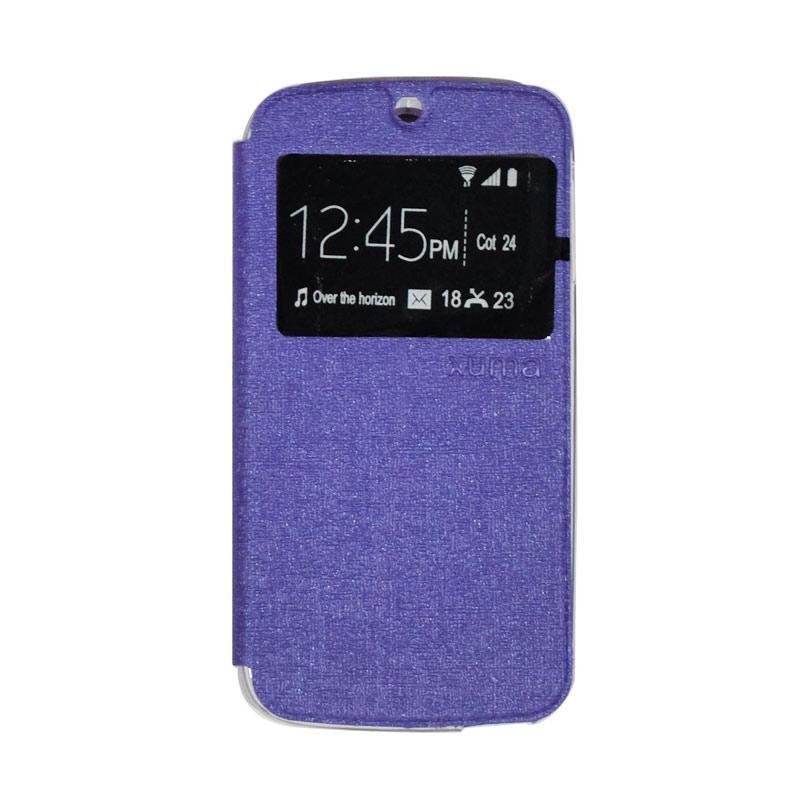 Ume Flipshell Flipcover Casing for Acer Liquid Jade S55 - Purple