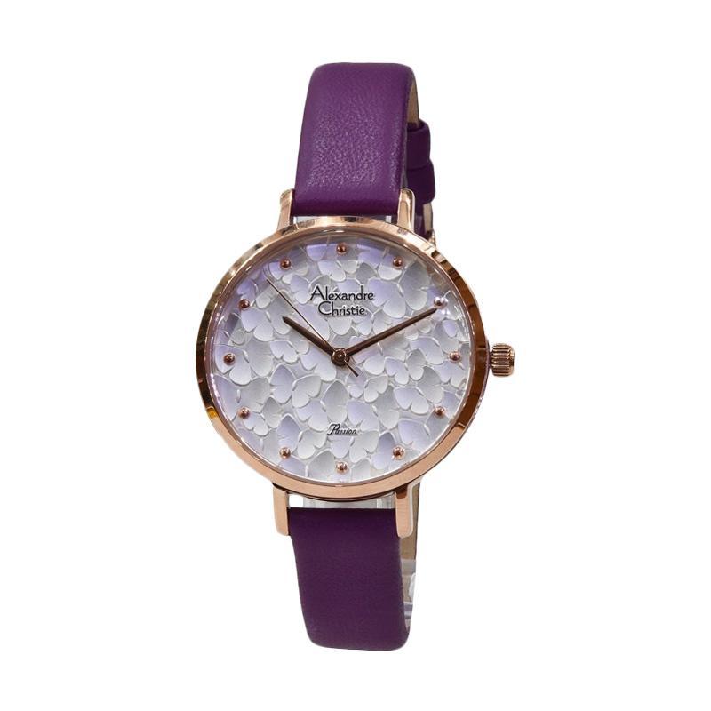 Alexandre Christie 2629 Jam Tangan Wanita - Purple