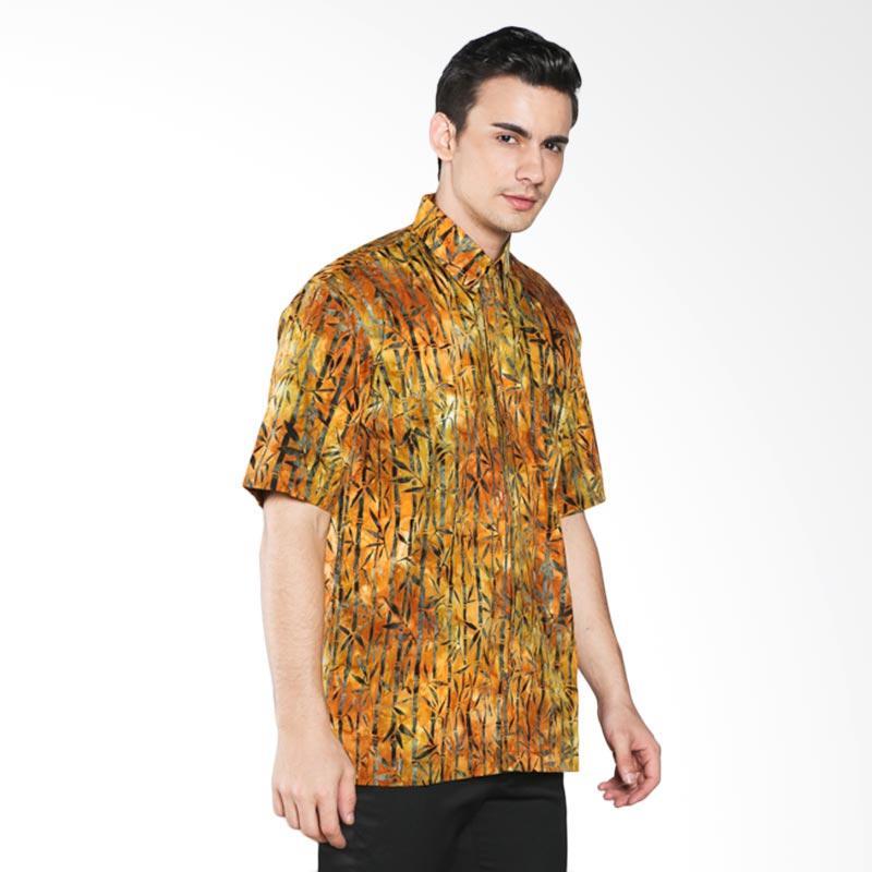 Batik Pria Tampan Bamboo PKMPD-04081658C Men Shirt - Ochre