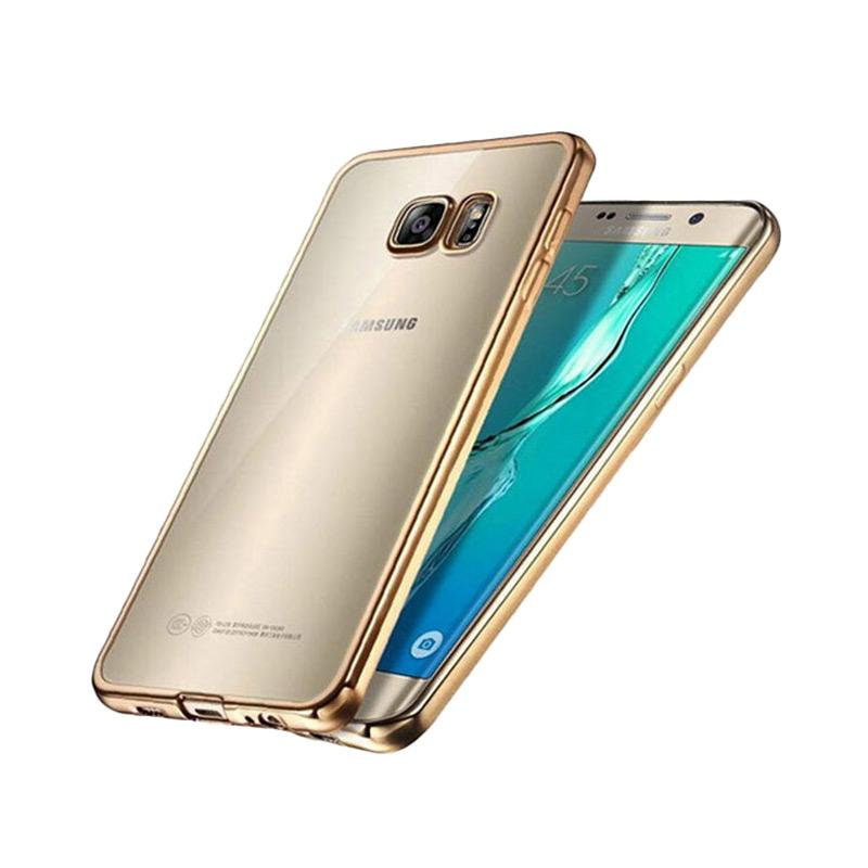 Likgus Tough Shield Casing for Samsung Galaxy S7 Edge - Rose Gold