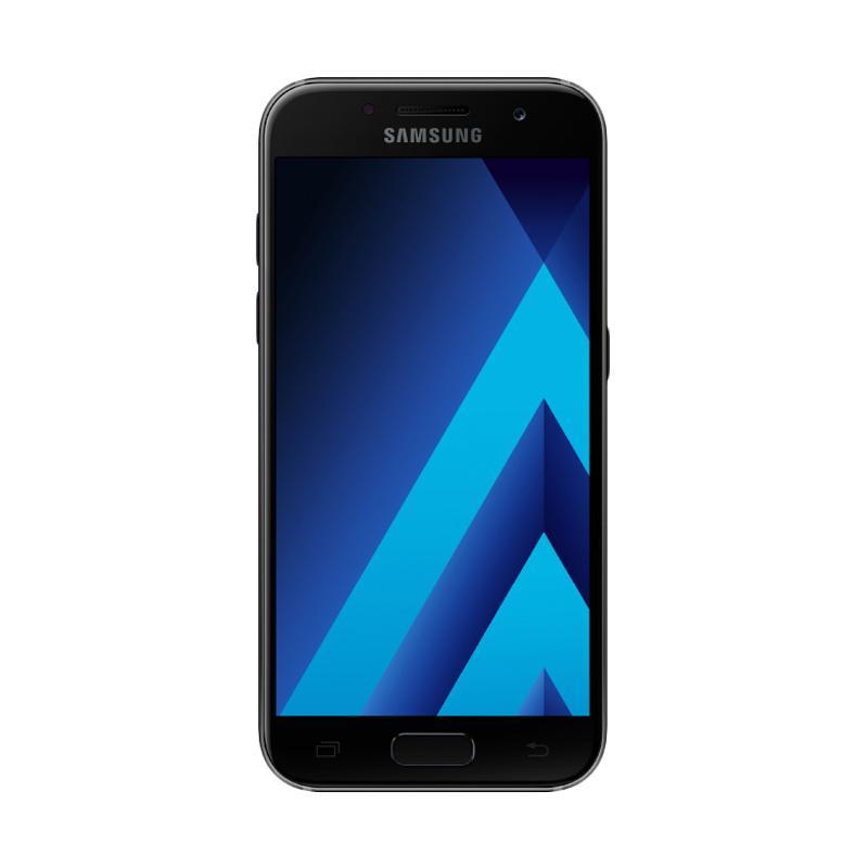 Samsung Galaxy A3 SM-A320 Smartphone - Black [2017 New Edition/16GB/2GB]