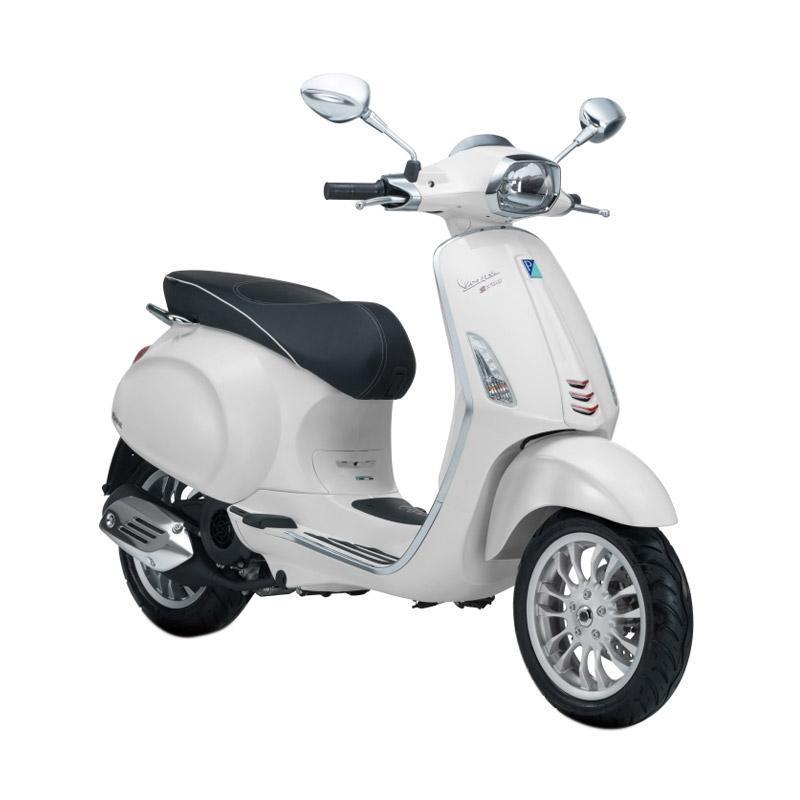 harga Vespa Sprint 150 i-Get Sepeda Motor - Monte Bianco [OTR Bandung] Blibli.com