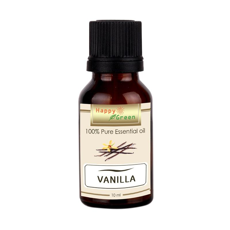 Happy Green Vanilla Minyak Vanilla Essential Oil [10 mL]