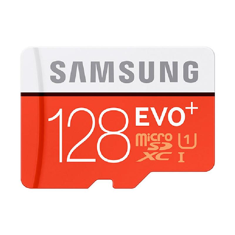 harga Samsung Evo Plus MicroSDHC UHS-I Memory Card [Class 10/128GB] Blibli.com