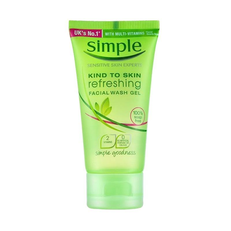 Simple Expert Kind to Skin Facial Wash Gel Pembersih Wajah