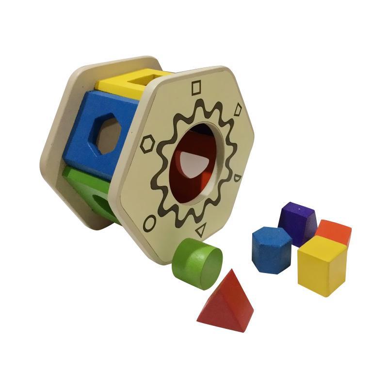 Indigo Kid Toys Sortasi Segi Enam Mainan Edukasi