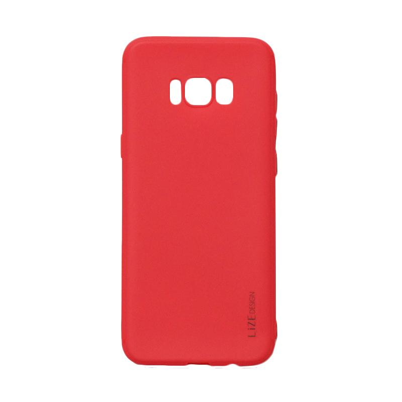 Lize Candy Case Style Softshell Softcase Casing for Samsung Galaxy S8 - Red