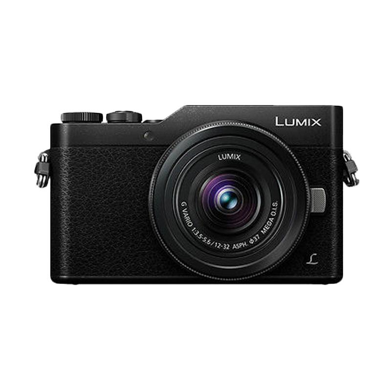 Panasonic Lumix GF9 Kit 12-32mm Kamera Mirrorless - Black [16 MP]