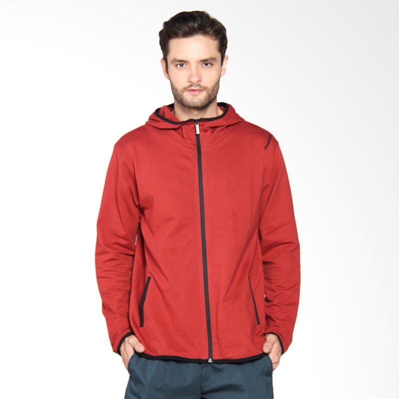 Reebok Element Cotton Tech Full Zip Jaket Olahraga Pria REEMGFH601A