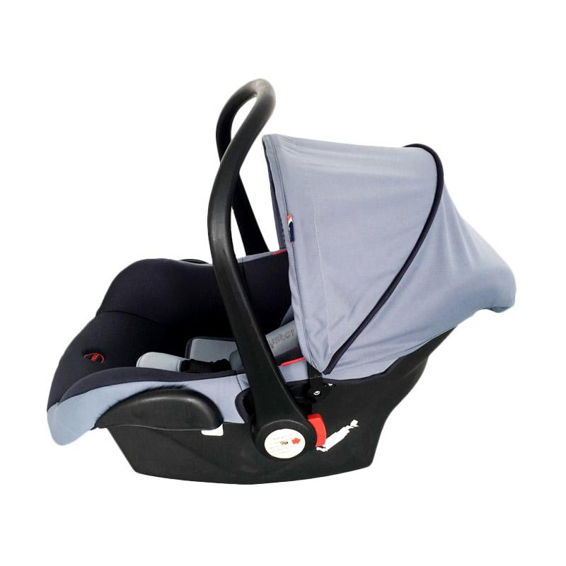 harga BabyStyle Oyster F2 Carseat Baby Carrier - Grey [0-15 month] Blibli.com