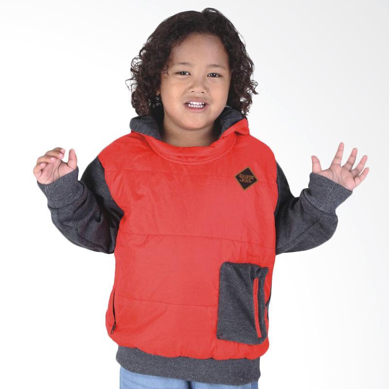 Catenzo Junior CJR CSE 147 Casual Jaket Anak Laki - Red