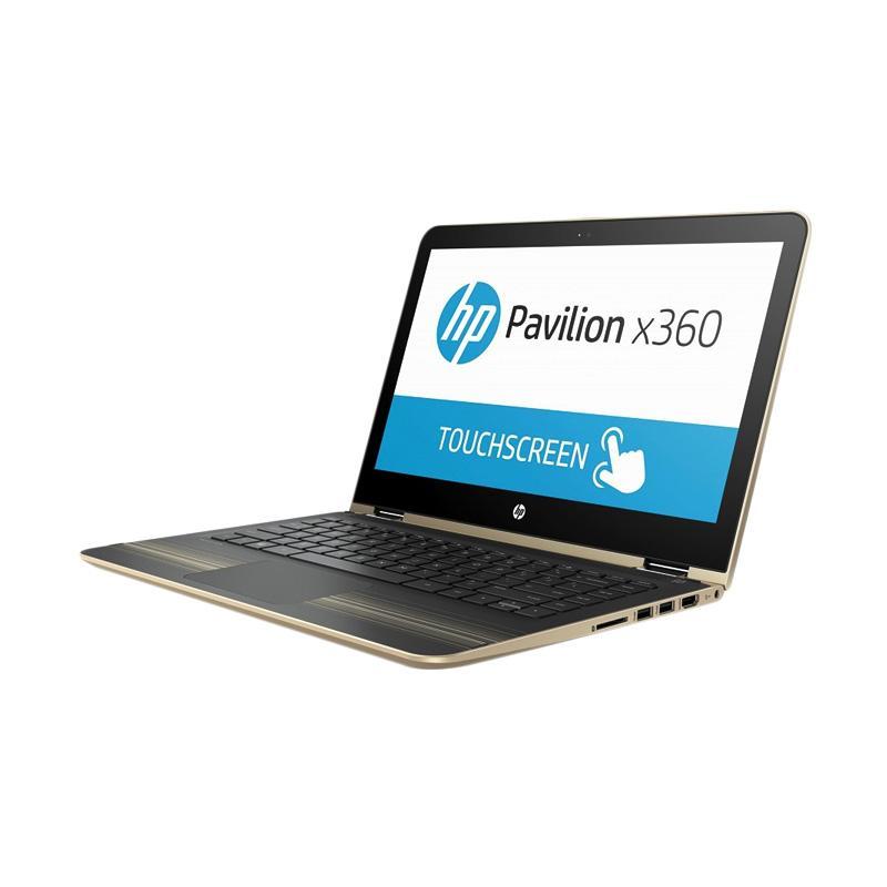 HP Pavilion x360 13-u174tu Notebook - Gold [256 GB M.2 SSD/4 GB/13.3 Inch/i3-7100U/Win 10] - 9281259 , 15437941 , 337_15437941 , 8599000 , HP-Pavilion-x360-13-u174tu-Notebook-Gold-256-GB-M.2-SSD-4-GB-13.3-Inch-i3-7100U-Win-10-337_15437941 , blibli.com , HP Pavilion x360 13-u174tu Notebook - Gold [256 GB M.2 SSD/4 GB/13.3 Inch/i3-7100U/Win 10
