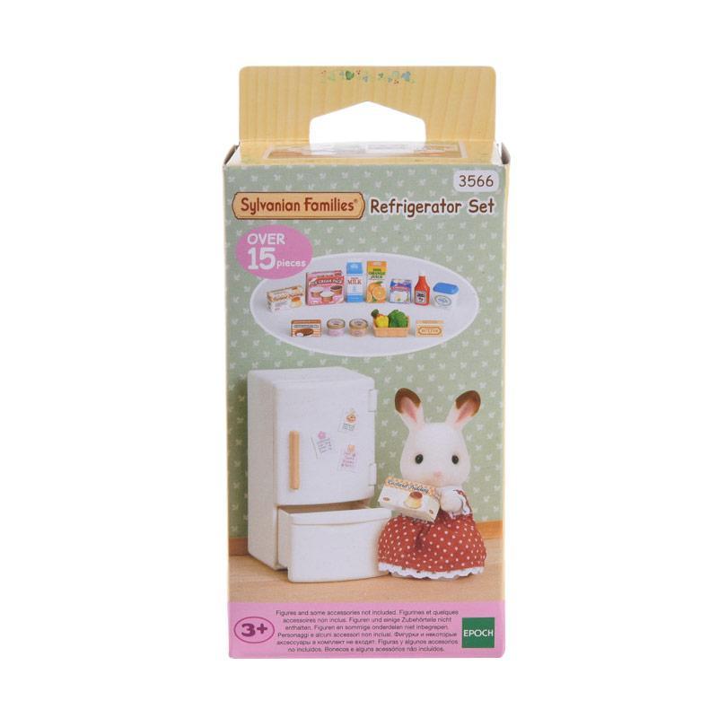Sylvanian Families Refrigerator Set Aksesoris Mainan Anak