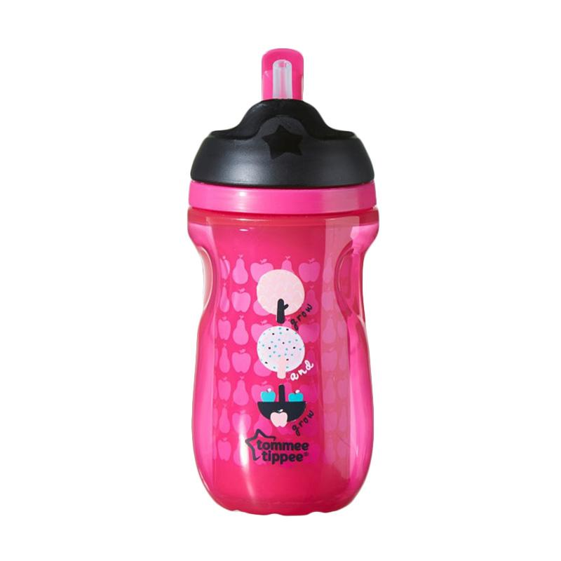 Tommee Tippee Active Insulated Straw Cup - Pink [12m+ ]