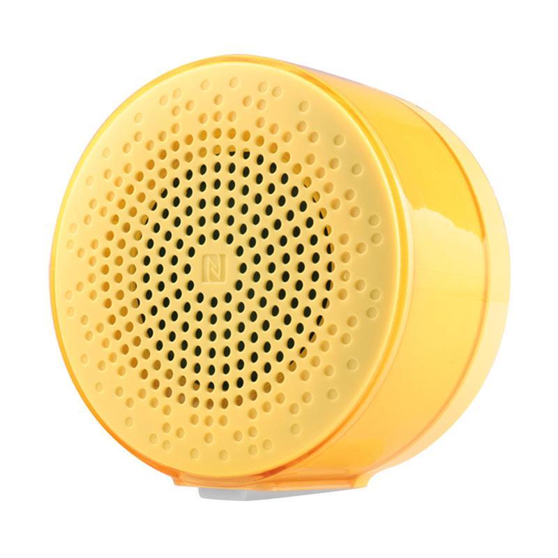 Auluxe X3 NFC Jello Portable Bluetooth Speaker - Yellow