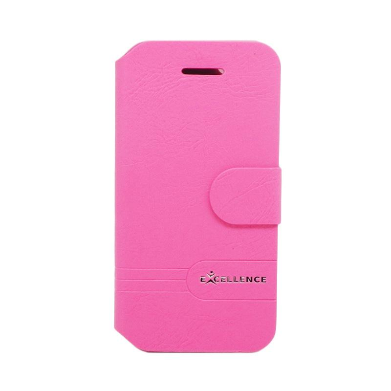 Excellence Dragonite Flip Cover Casing for iPhone 5 - Pink