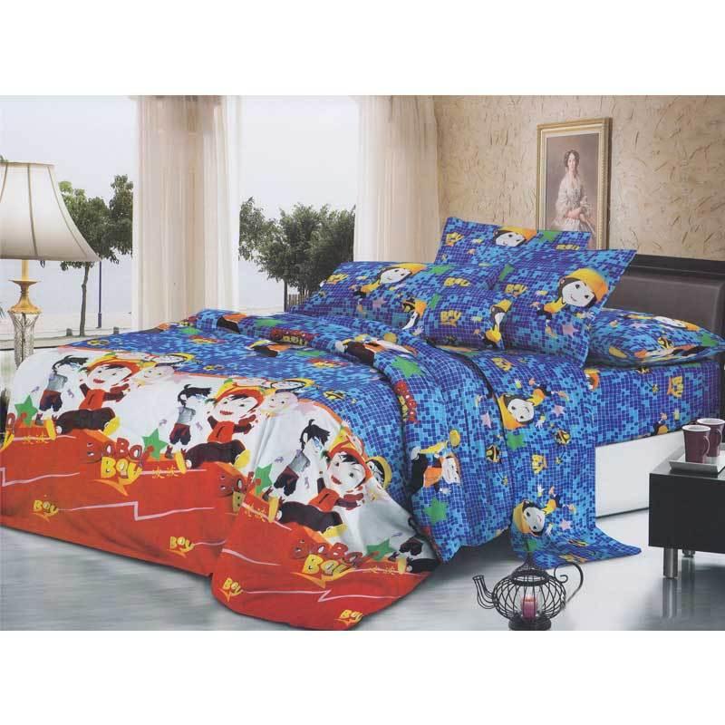 Khawla Disperse Boiboi Boy Set Sprei dan Bed Cover
