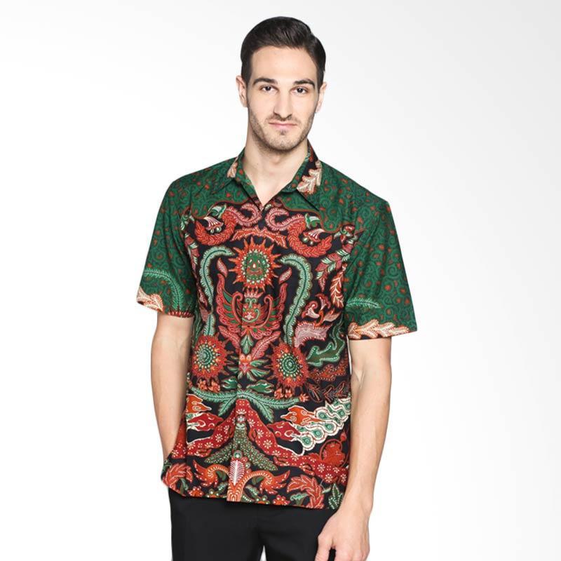 Batik Pria Tampan Dewa RA PKMPD-01161442P Kemeja Pria - Green