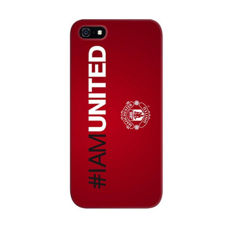 Indocustomcase #iamunited Custom Cover Hardcase Casing for Apple iPhone 5/5S/SE
