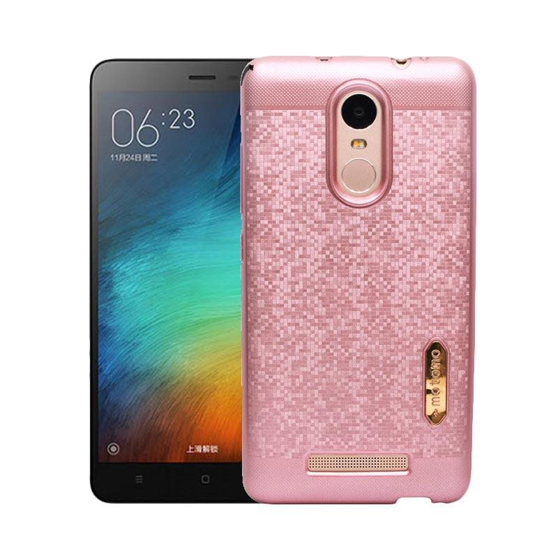 Motomo Softcase Casing for Xiaomi Redmi Note 3 - Rose Gold