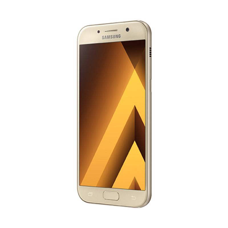 Samsung Galaxy A5 2017 New Edition SM-A520 Smartphone - Gold [32 GB/3 GB]
