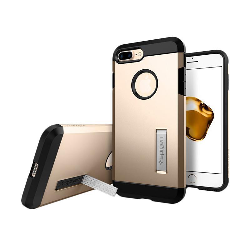 Spigen Tough Armor Casing for iPhone 7 Plus - Champagne Gold